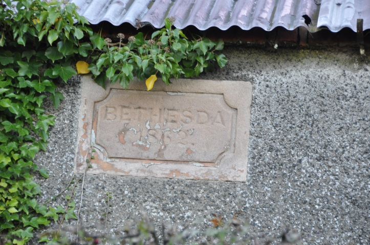 Bethesda 1862 on Greengraves Road