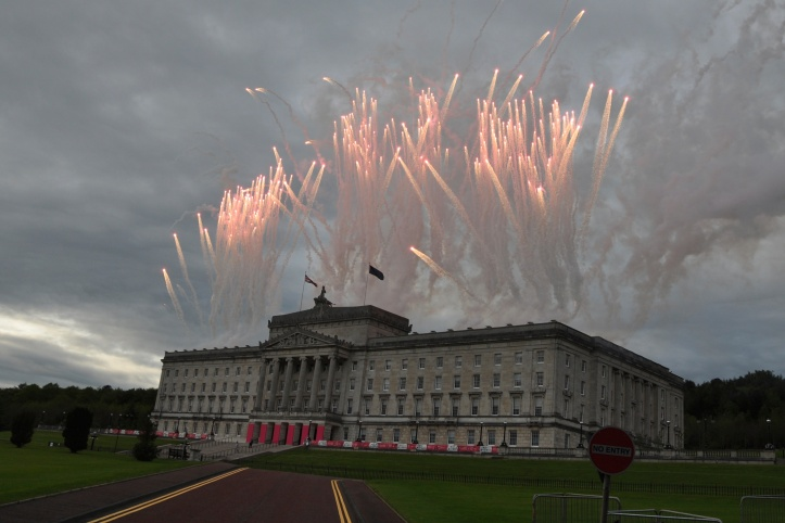 giro fireworks at Stormont