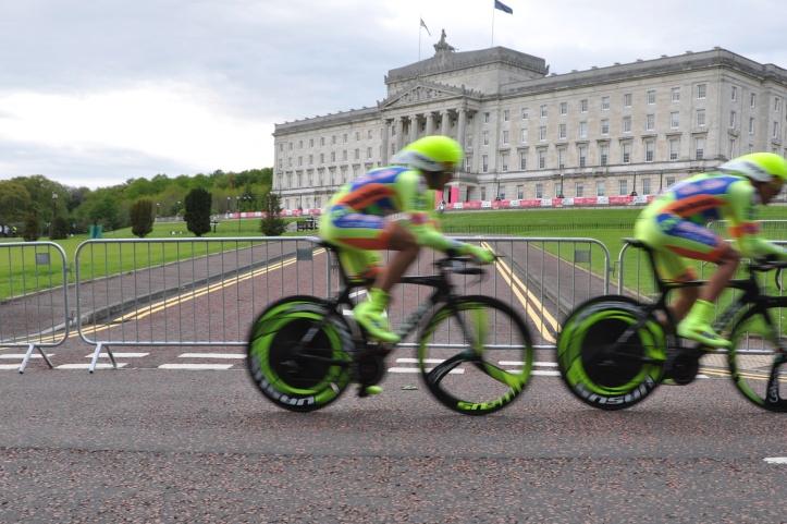 Giro d'Italia at Parliament Buildings