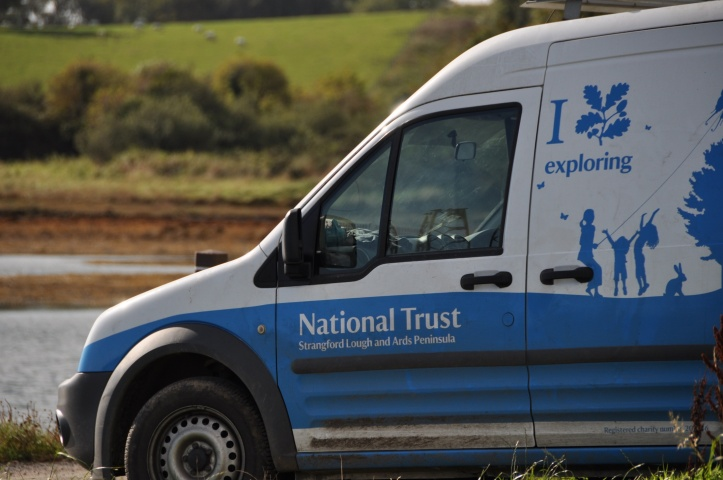 Rathcunningham National Trust van