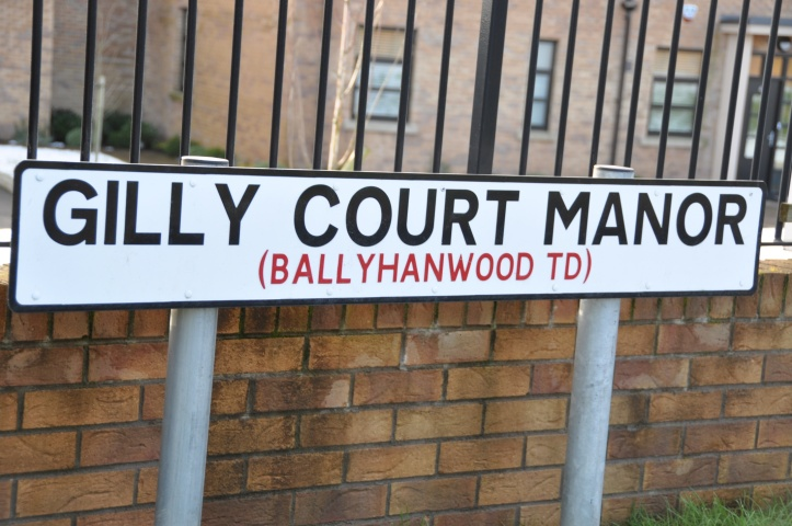 Ballyhanwood sign
