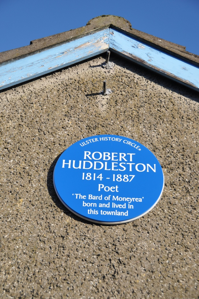 Huddleston Plaque Moneyrea