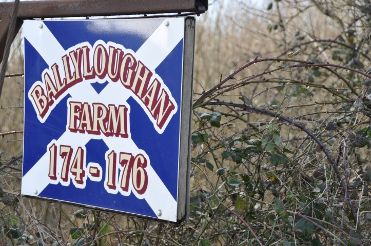 Ballyloughan Farm sign