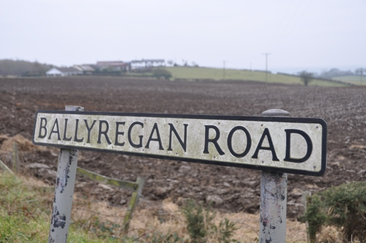 Ballyregan Road sign
