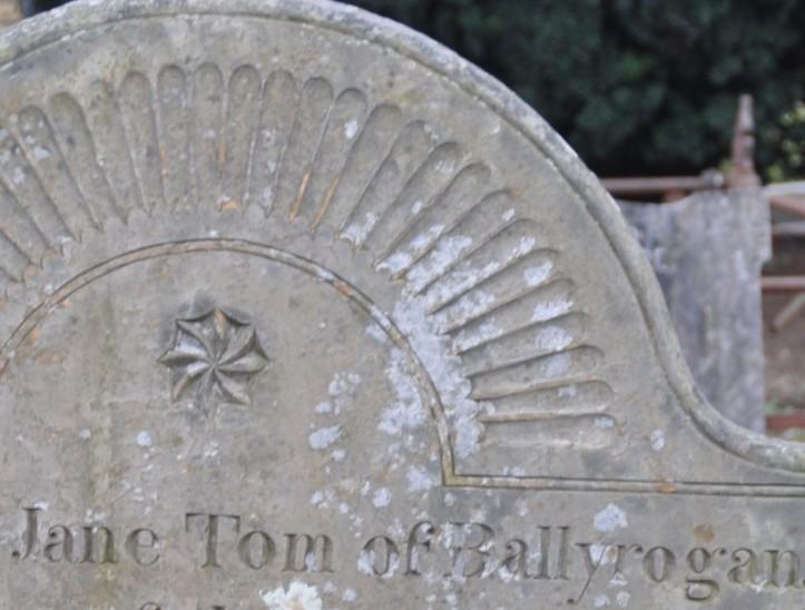 Ballyrogan gravestone