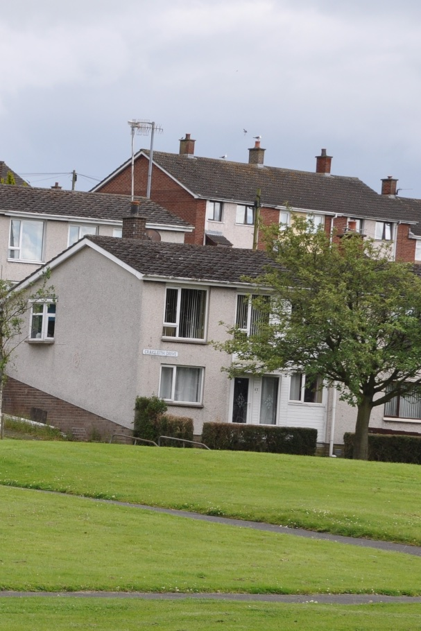 Carrowreagh houses in Ballybeen