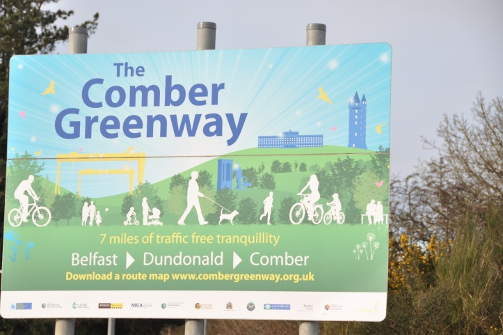 Comber Greenway Sign