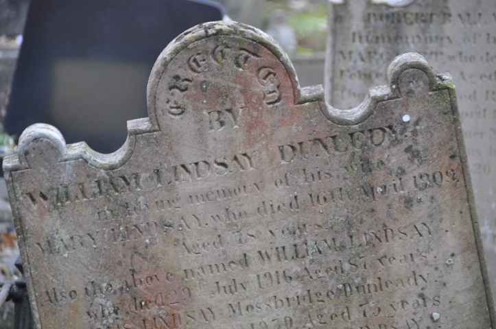 Dunlady gravestone