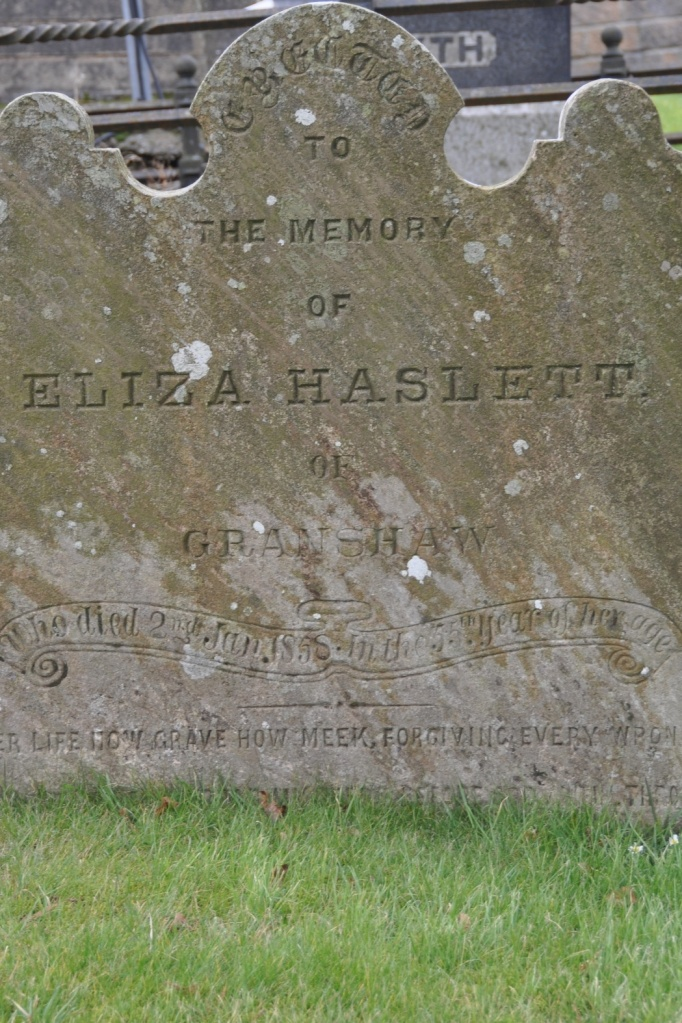 Granshaw headstone (1)
