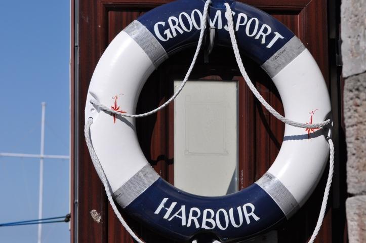Groomsport Harbour sign
