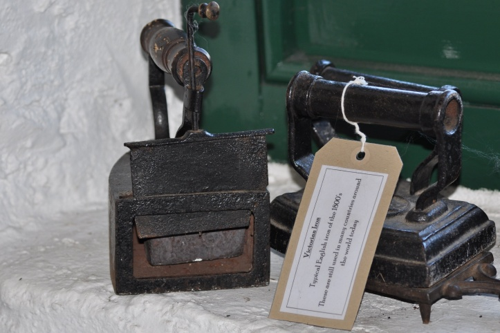 Irons from 1800s in Groomsport