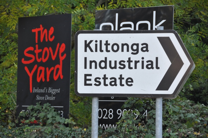 Kiltonga Industrial Estate signs