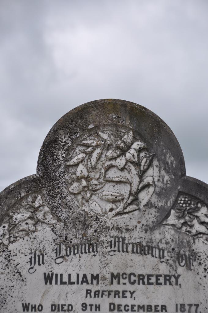 Raffrey gravestone