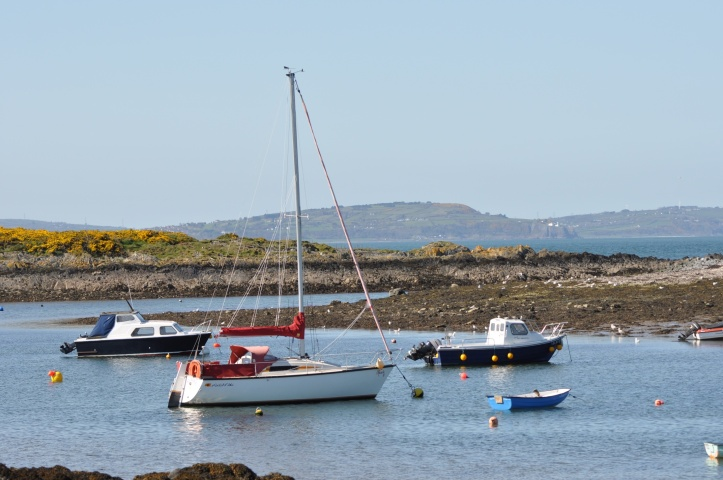 View from Groomsport towards Ballymacormick and County Antrim