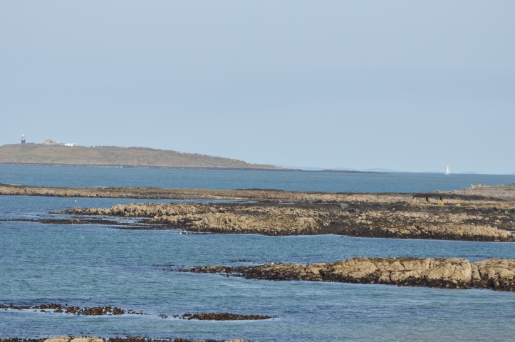 View from Groomsport towards Copeland Islands
