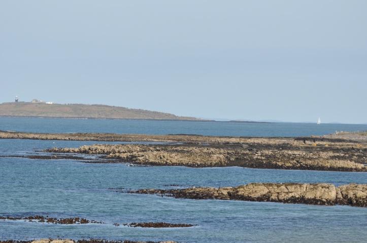 View from Groomsport towards Copeland Islands