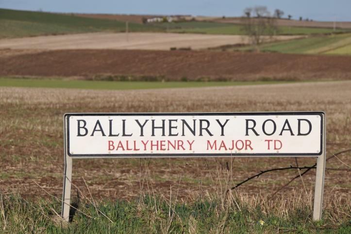 Ballyhenry TD sign