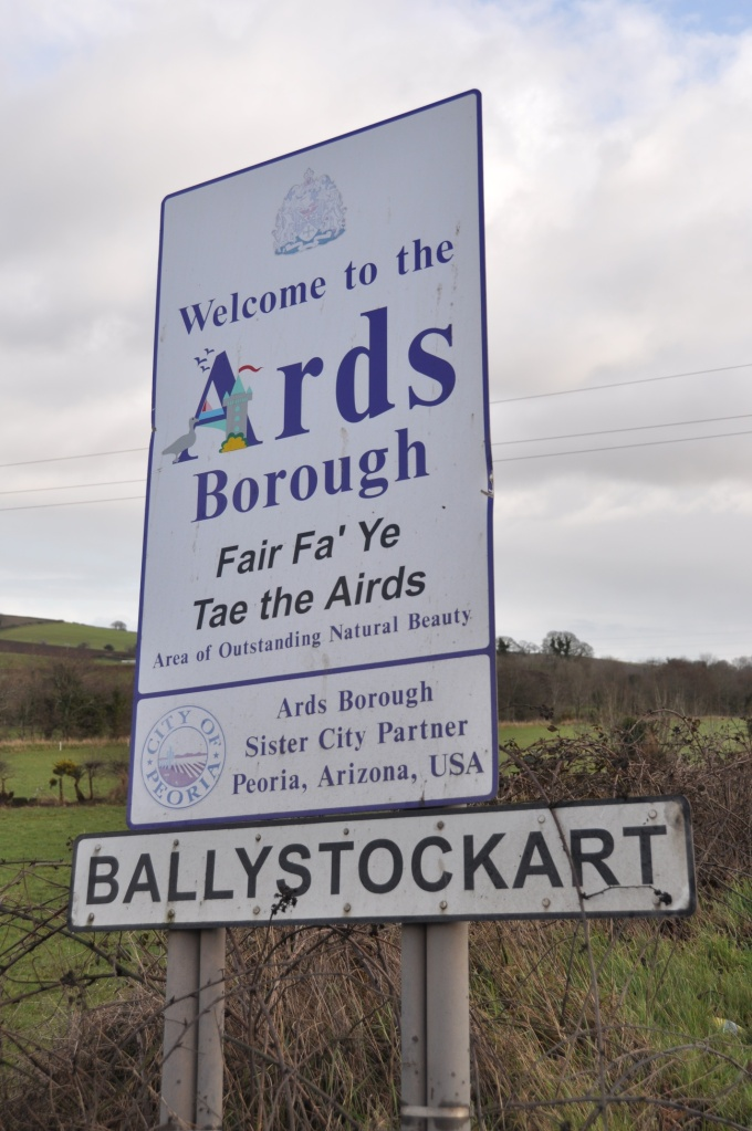 Ballystockart and Ards sign
