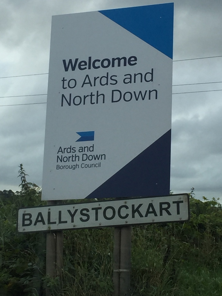 Ballystockart sign 2015