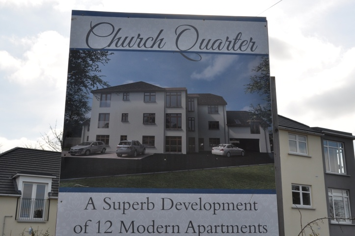 Church Quarter apartment sign
