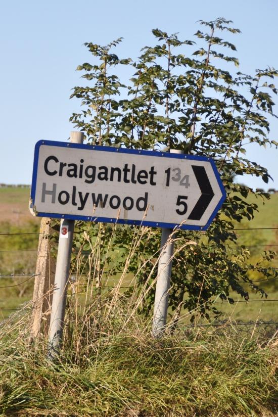 Craigantlet-Holywood sign