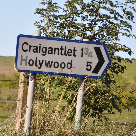 Craigantlet-Holywood sign