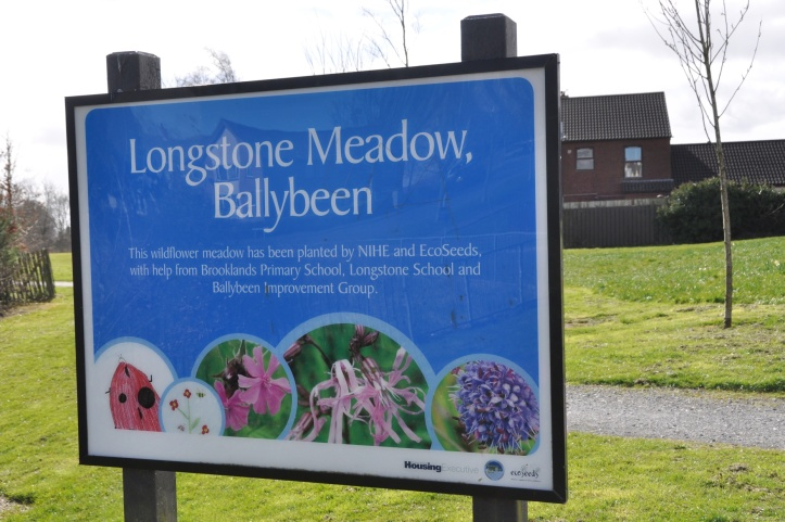 Longstone Meadow sign full