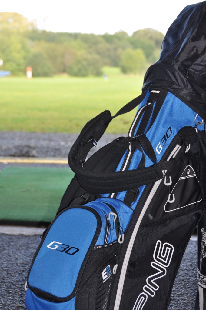 P golf bag at Blackwood