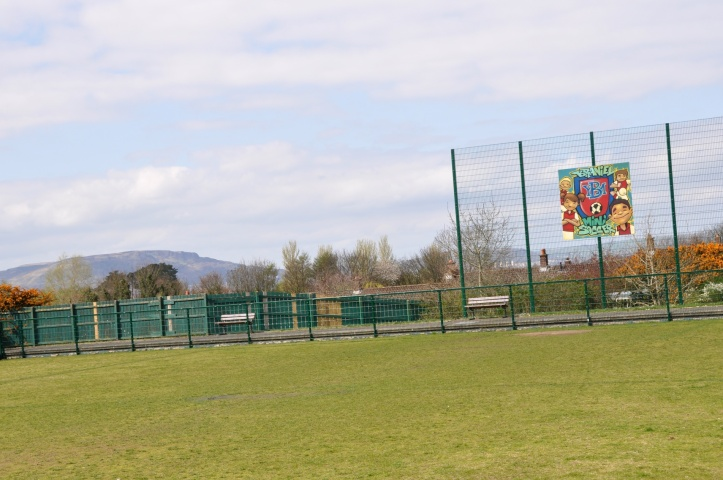 Braniel football pitch