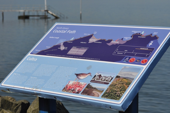 North Down Coast Path sign