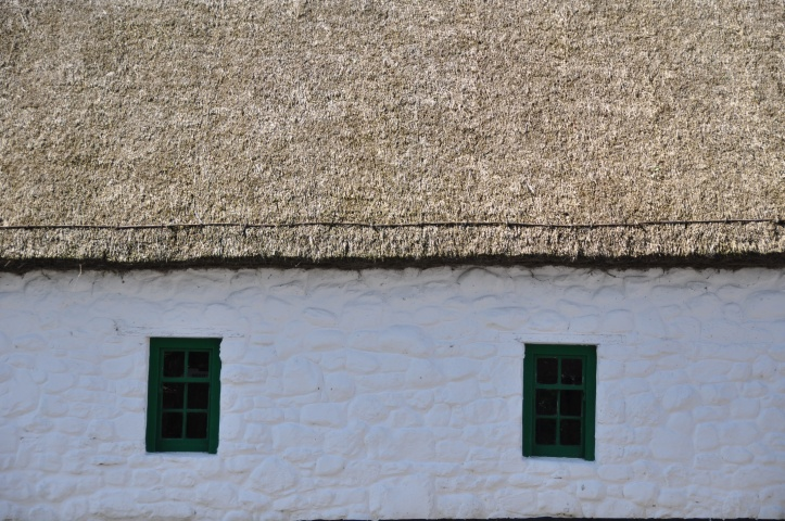 Ulster Folk Museum thatched cottage