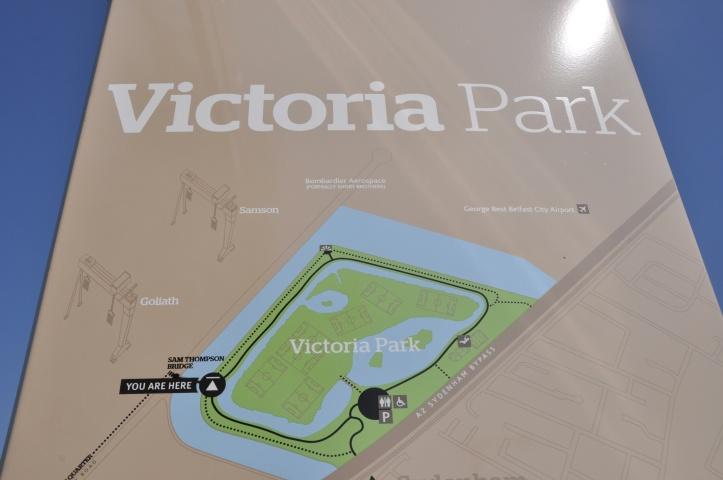 Victoria Park map