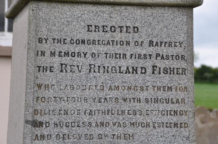 Raffrey gravestone minister