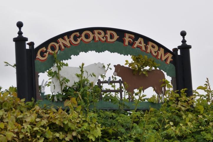 Concord Farm sign