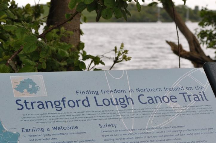 Delamont canoe sign 2