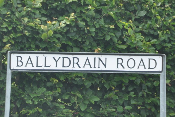 Ballydrain Road sign