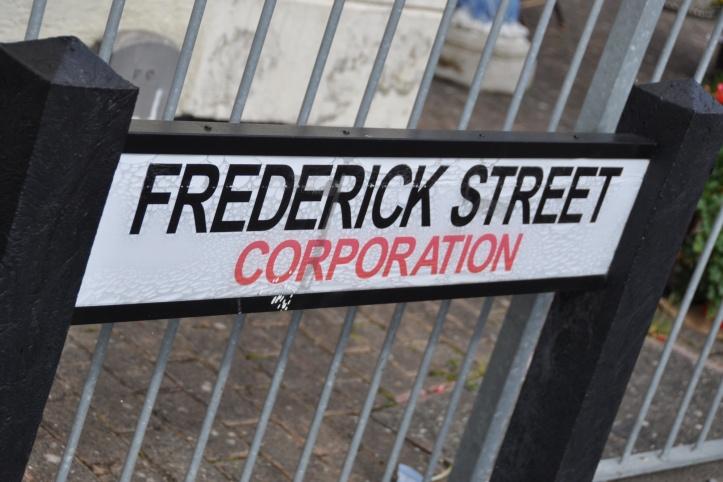 Corporation sign