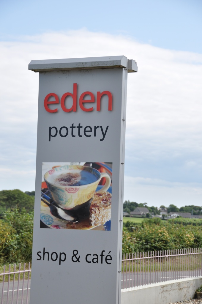Eden Pottery sign