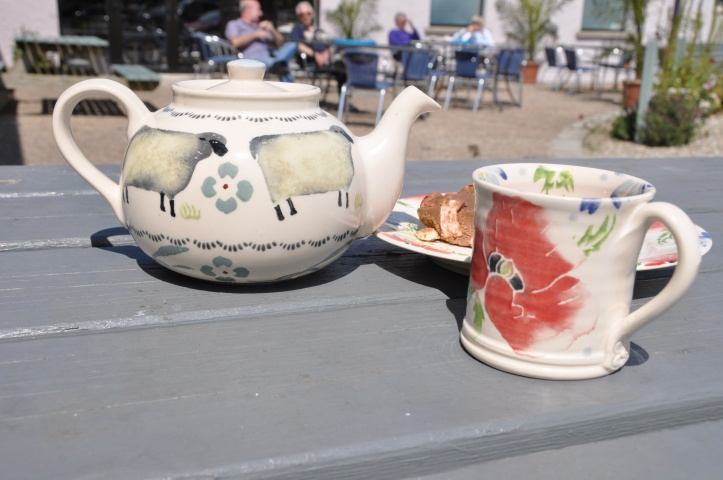 Eden Pottery table