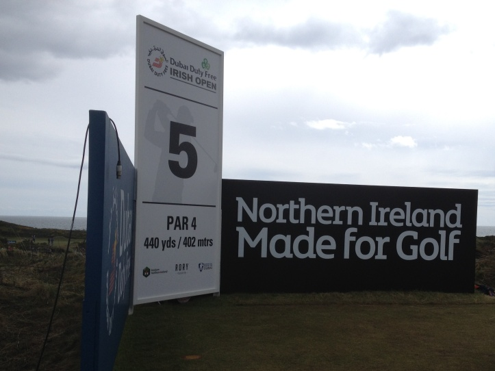 Irish Open 5th tee