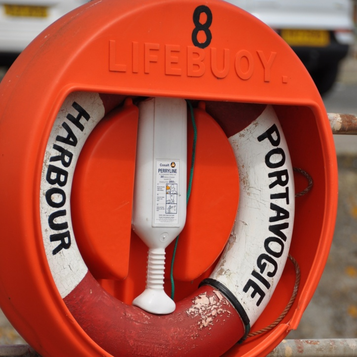 Portavogie Harbour lifebuoy