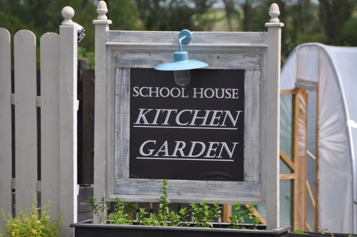 Ballydrain Schoolhouse kitchen garden