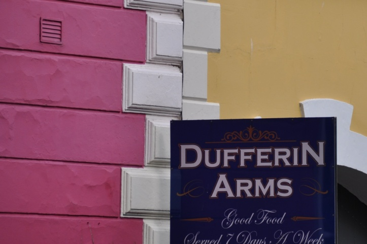 Duffer Arms sign