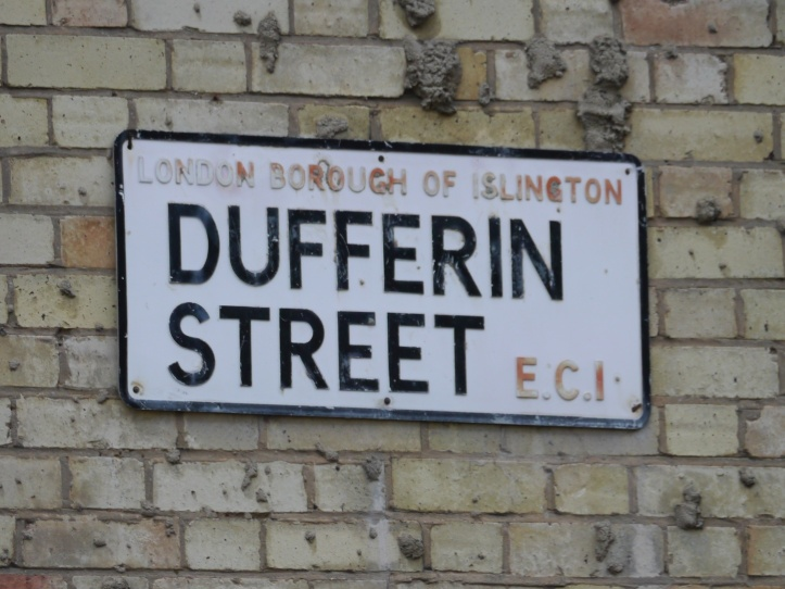 Dufferin Street sign