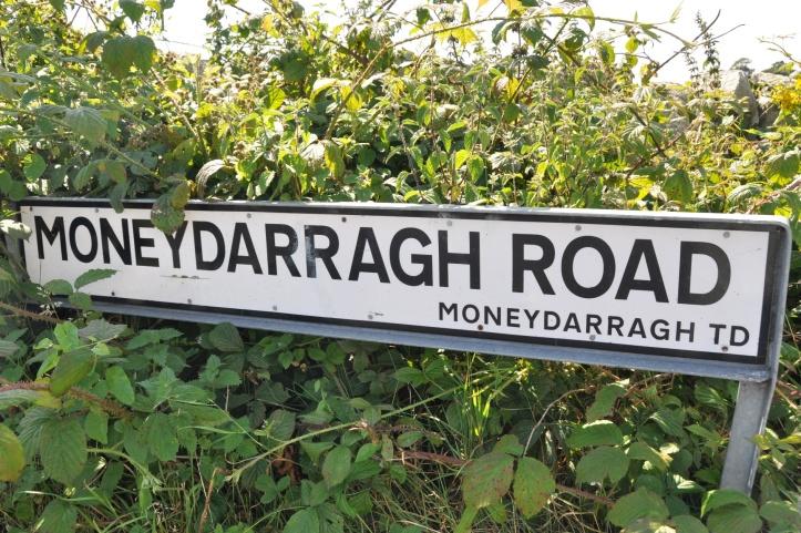Moneydarragh Road sign