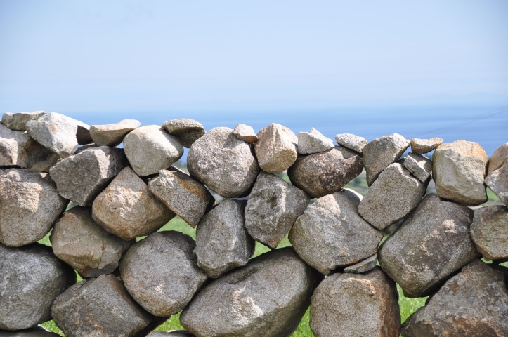 stone wall and sea 2