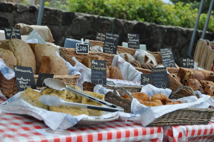 Comber market bread stall