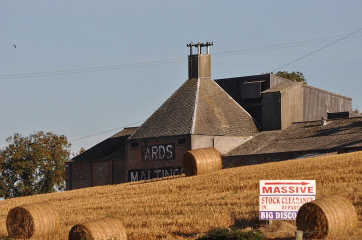 Ards Maltings bales