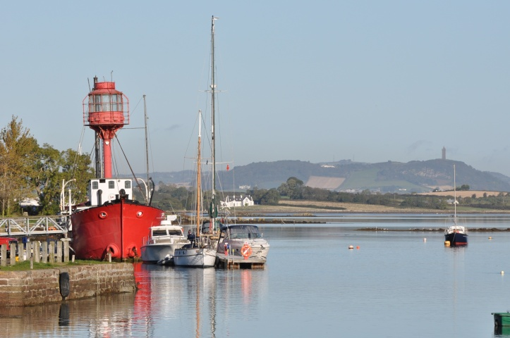Ballydorn lightship and Scrabo