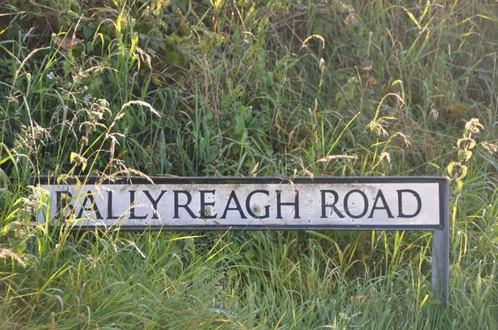 Ballyreagh Road sign